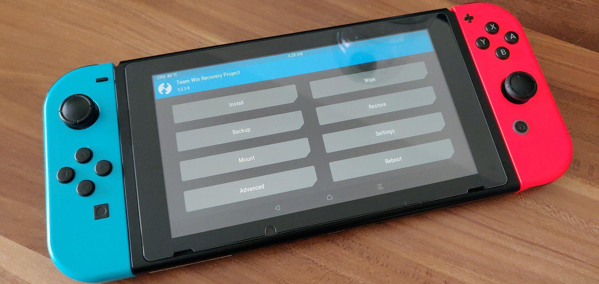 Android sur Nintendo Switch : un portage prometteur disponible en téléchargement