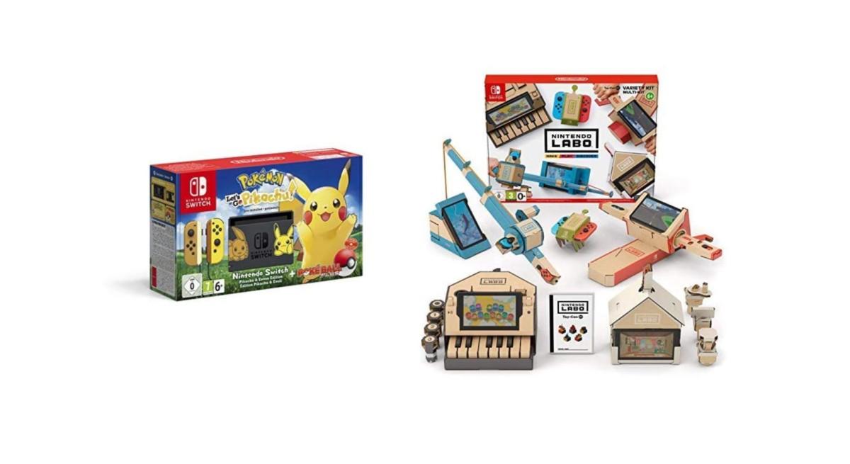 🔥 Prime Day 2019 : des packs Nintendo Switch à partir de 299 euros seulement