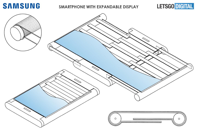 Samsung : un smartphone à écran extensible pour une transformation en tablette