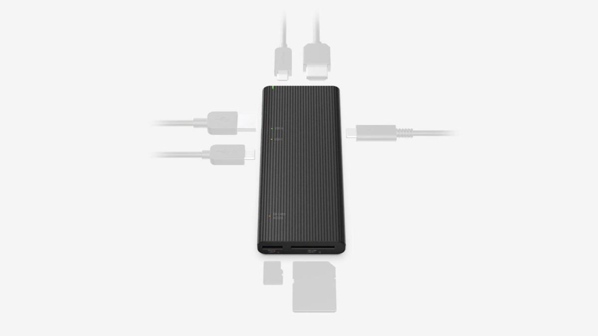 Sony MRW-S3, le hub USB-C de la démesure : 100W (PD), 1000 Mb/s et lecteur SD/microSD UHS-II