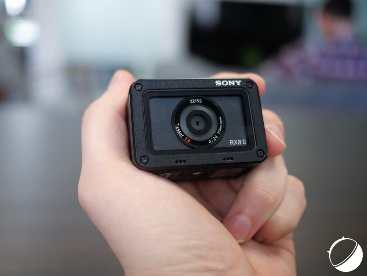 L'objectif de la Sony RX0 II n'ouvre qu'à f/4