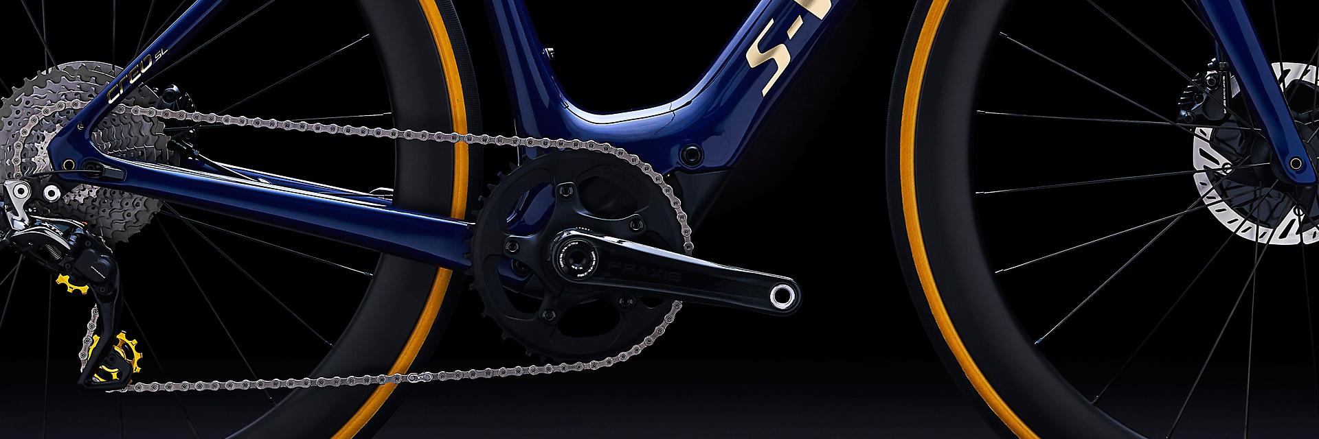 Turbo Creo SL : 195 km d'autonomie et à peine 12 kilos pour ce vélo de course électrique