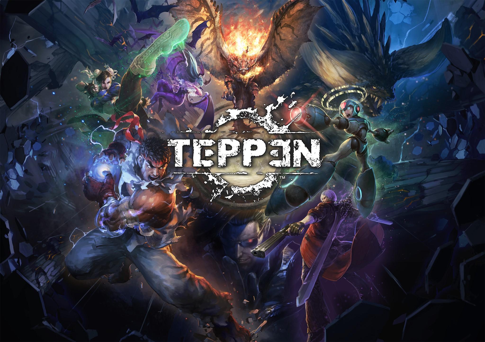 Teppen : ce jeu mobile réunit Street Fighter, Monster Hunter, Resident Evil et bien plus