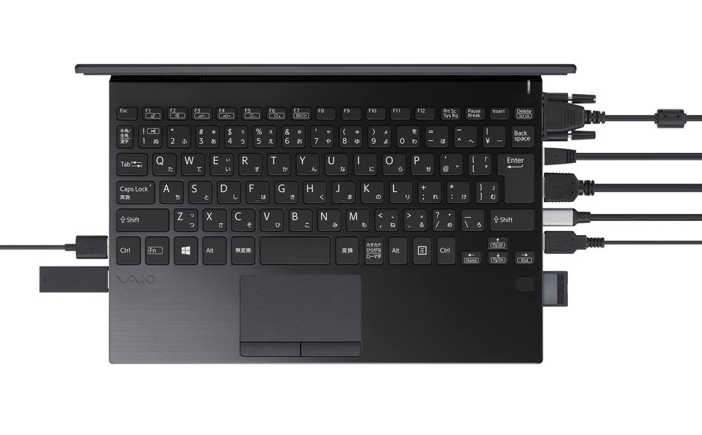 VAIO présente le PC «vous n'avez pas besoin d'un dongle USB»