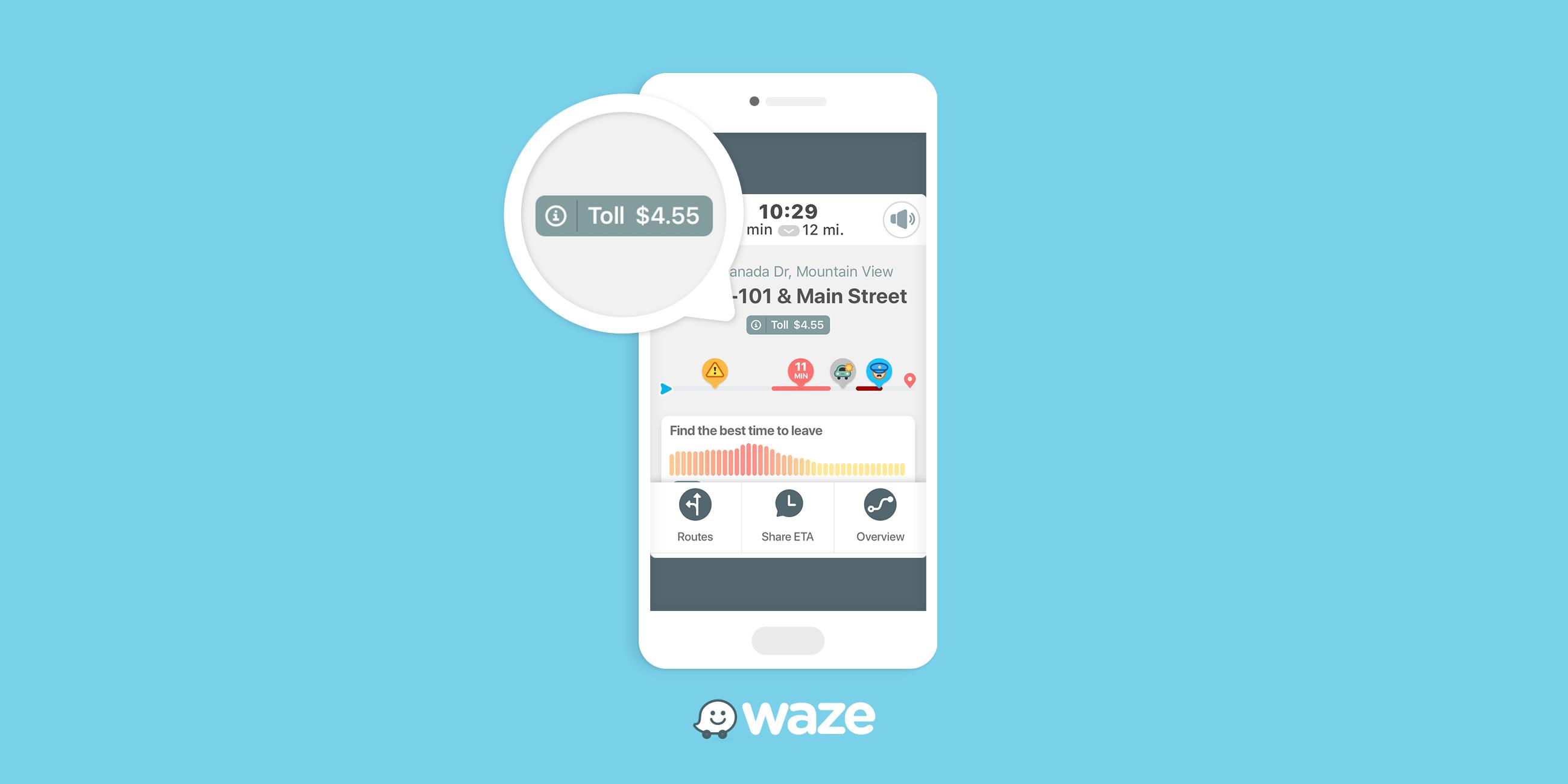 Waze s'apprête à intégrer les prix des péages sur les autoroutes