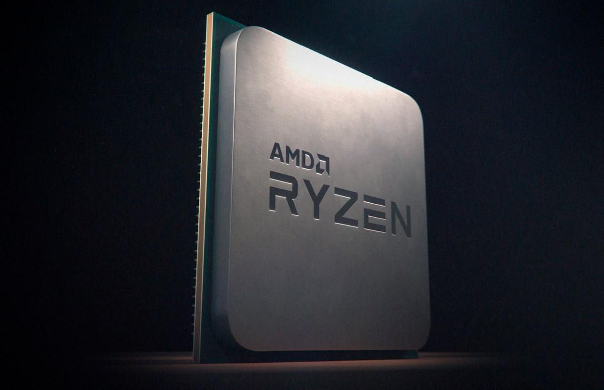 Un processeur AMD Ryzen