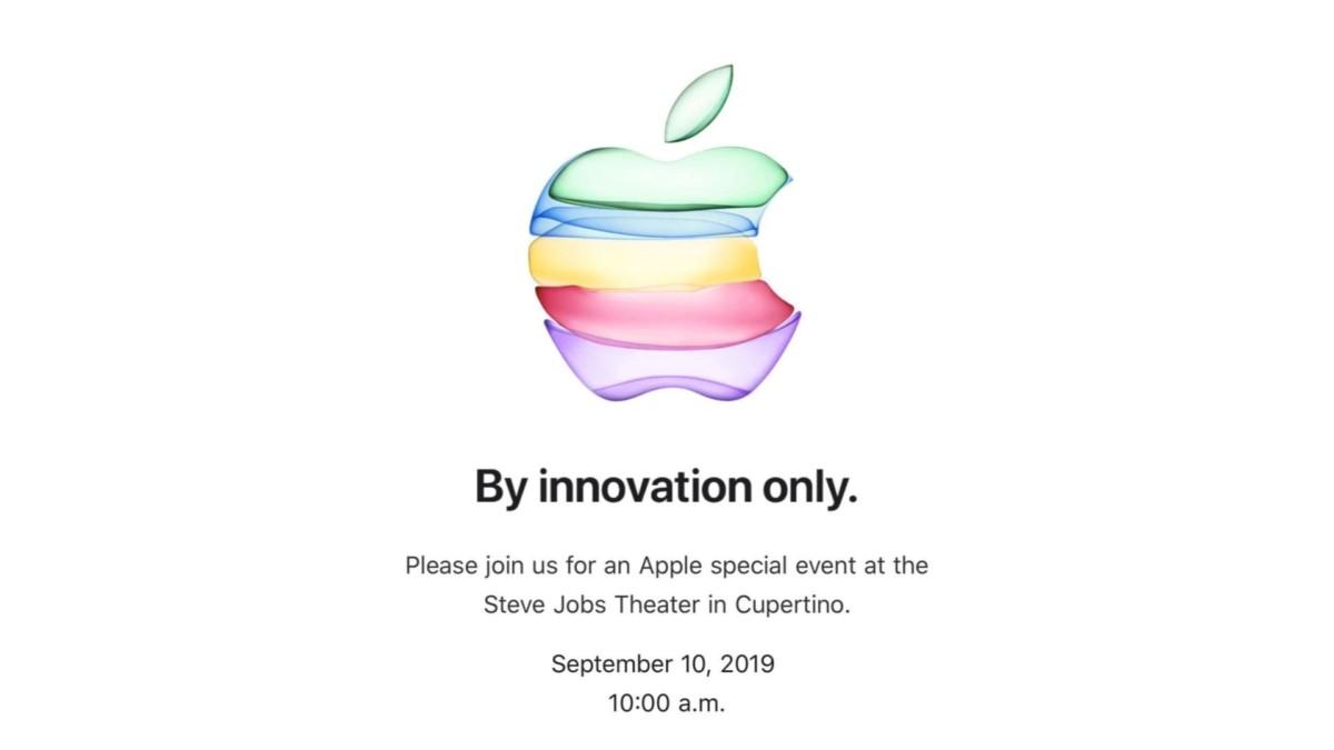 Les iPhone 11 seront annoncés le 10 septembre 2019 : le rendez-vous est pris !