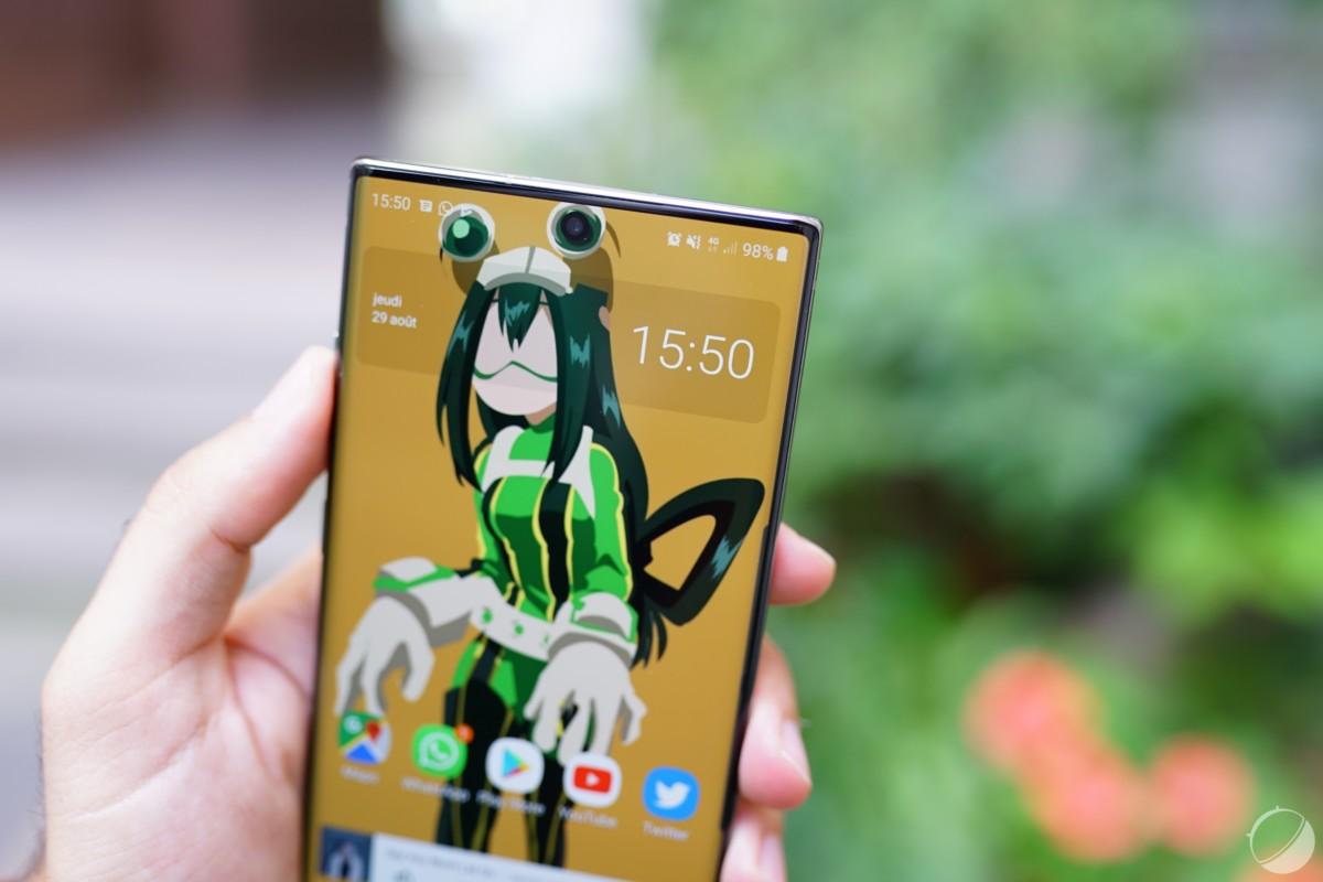 Le Samsung Galaxy Note 10+ profite d'une belle autonomie