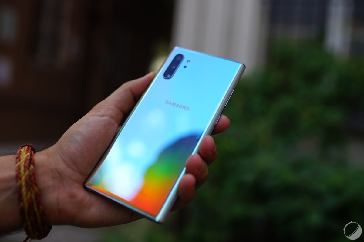 Le Samsung Galaxy Note 10.