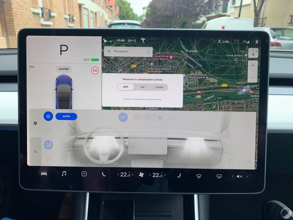 c tesla model 3 frandroid img 1087 1200x900 - O Tesla Mannequin 3 é um objeto tecnológico: descubra sua interface e seus gadgets - FrAndroid