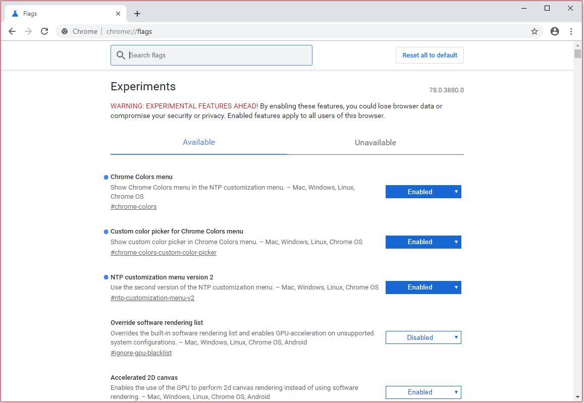 Comment créer votre propre thème sur Google Chrome en version Canary