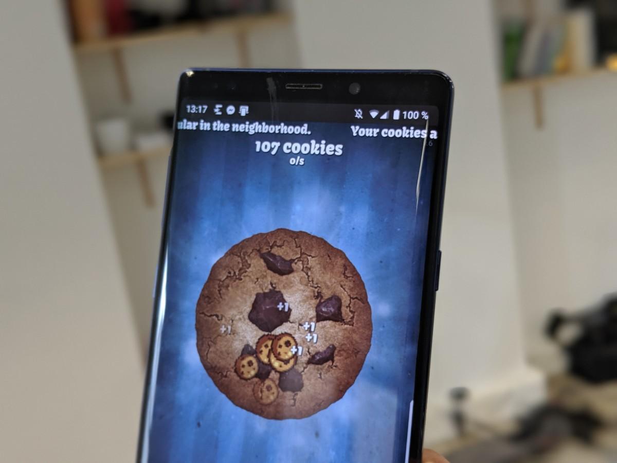 Cookie Clicker sur Android : après avoir cassé votre souris, détruisez votre écran de smartphone