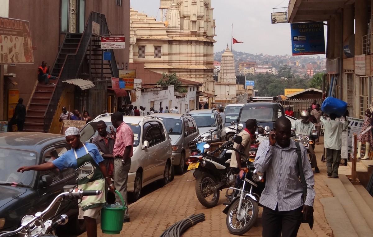 Kampala, la capitale ougandaise (photo par Adam Jones, Ph.D CC BY-SA)
