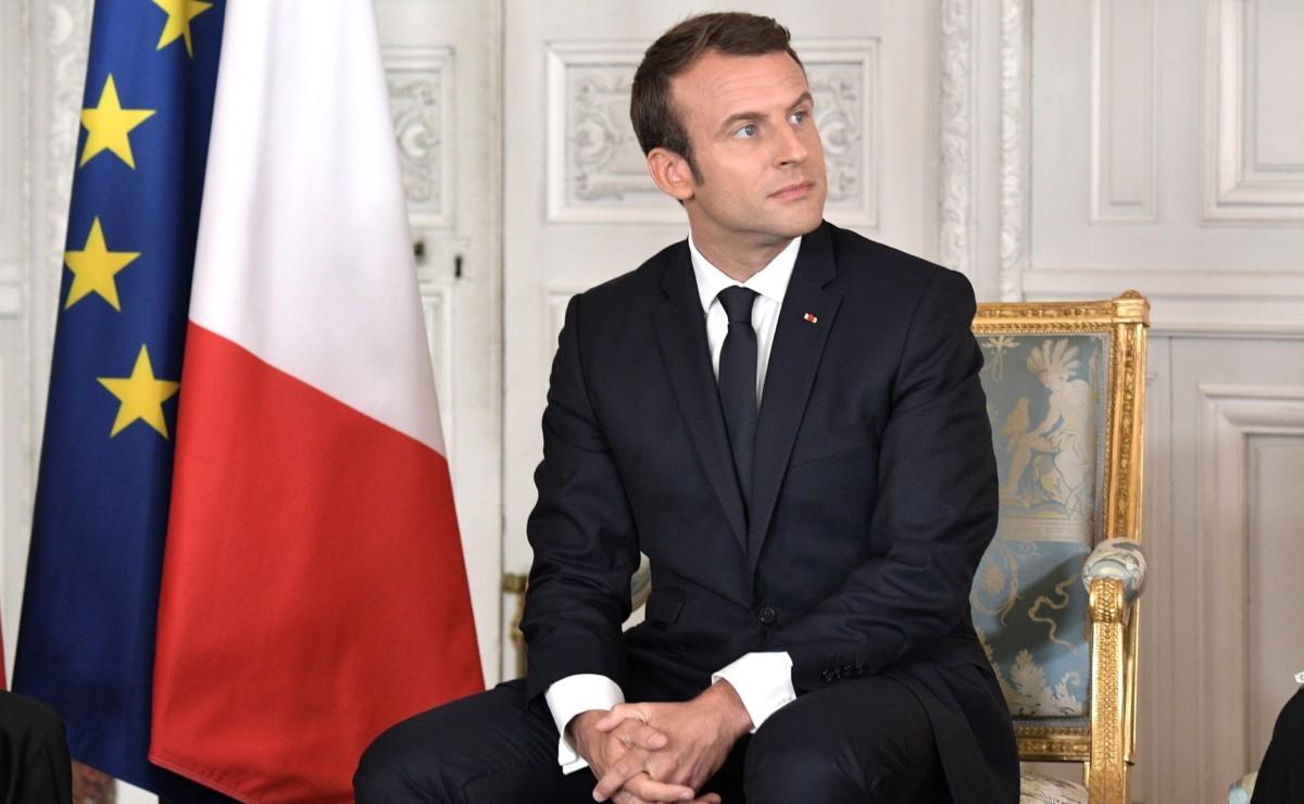 Emmanuel Macron en 2017. Source : Présidence de la Fédération de Russie