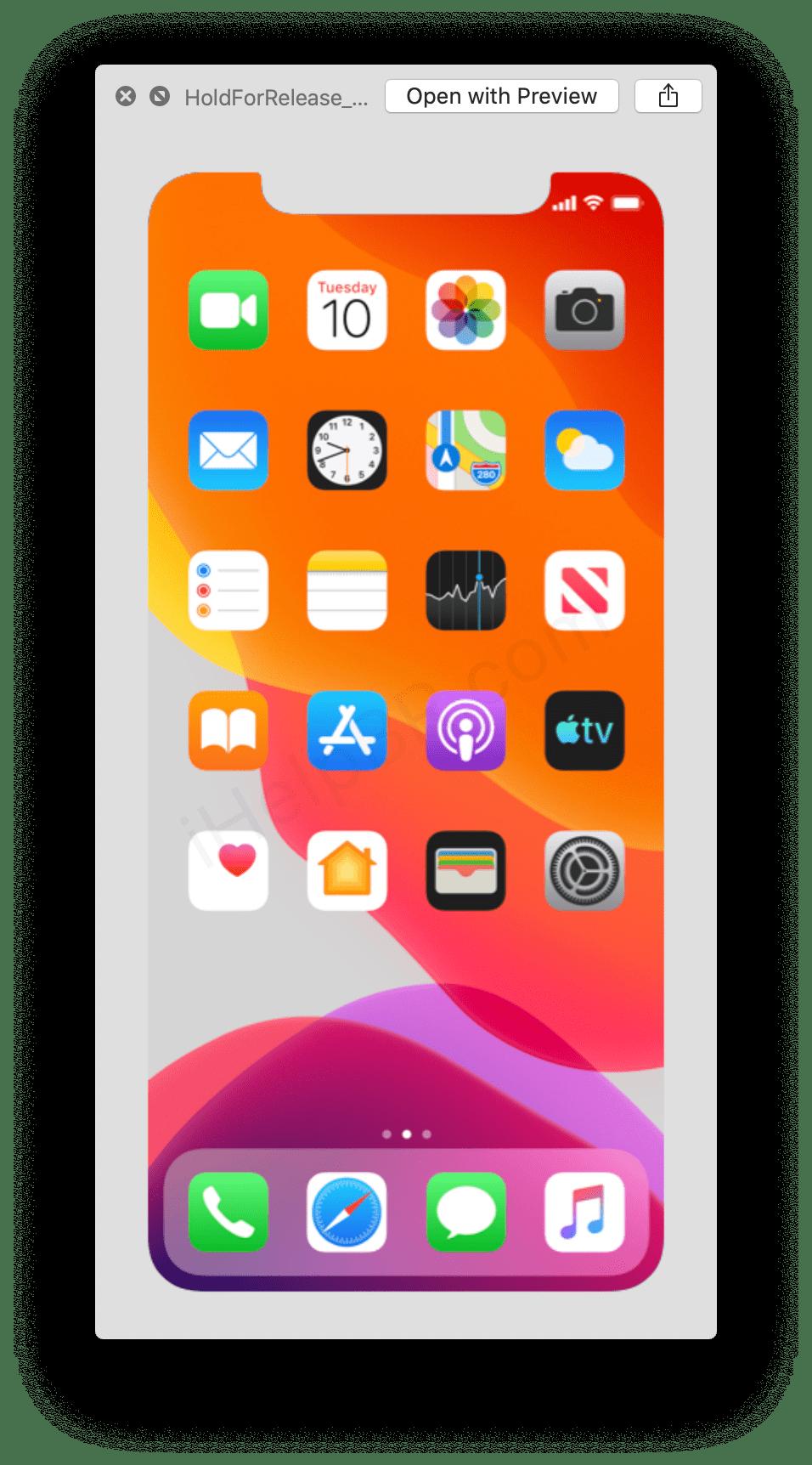 Apple iPhone 11 : la date de lancement indiquée par erreur par iOS 13 beta 7