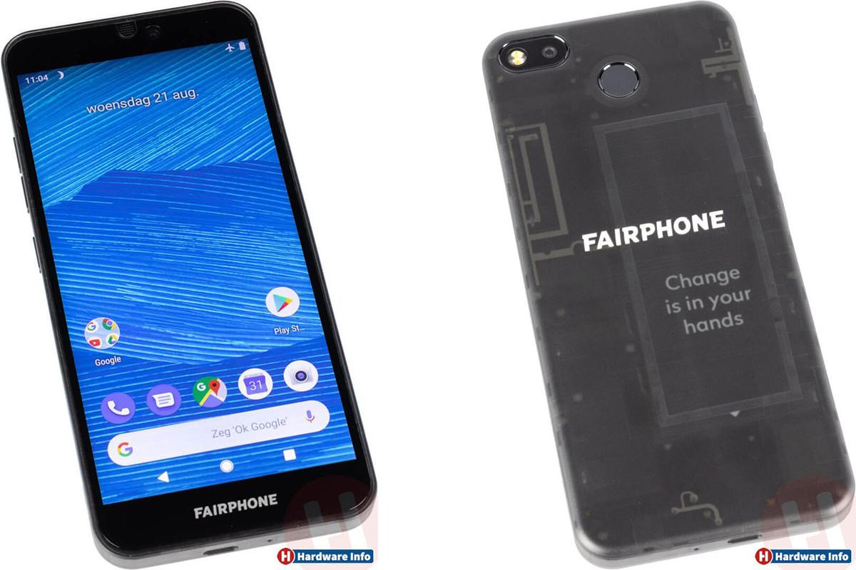 Fairphone 3 : le smartphone durable se montre en photos