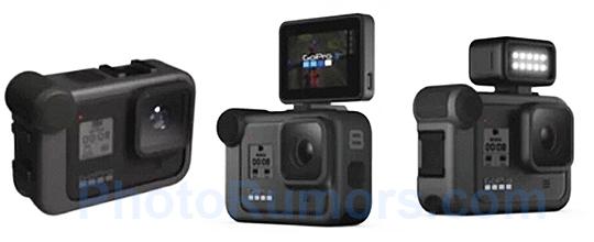 La GoPro Hero8 et quelques accessoires