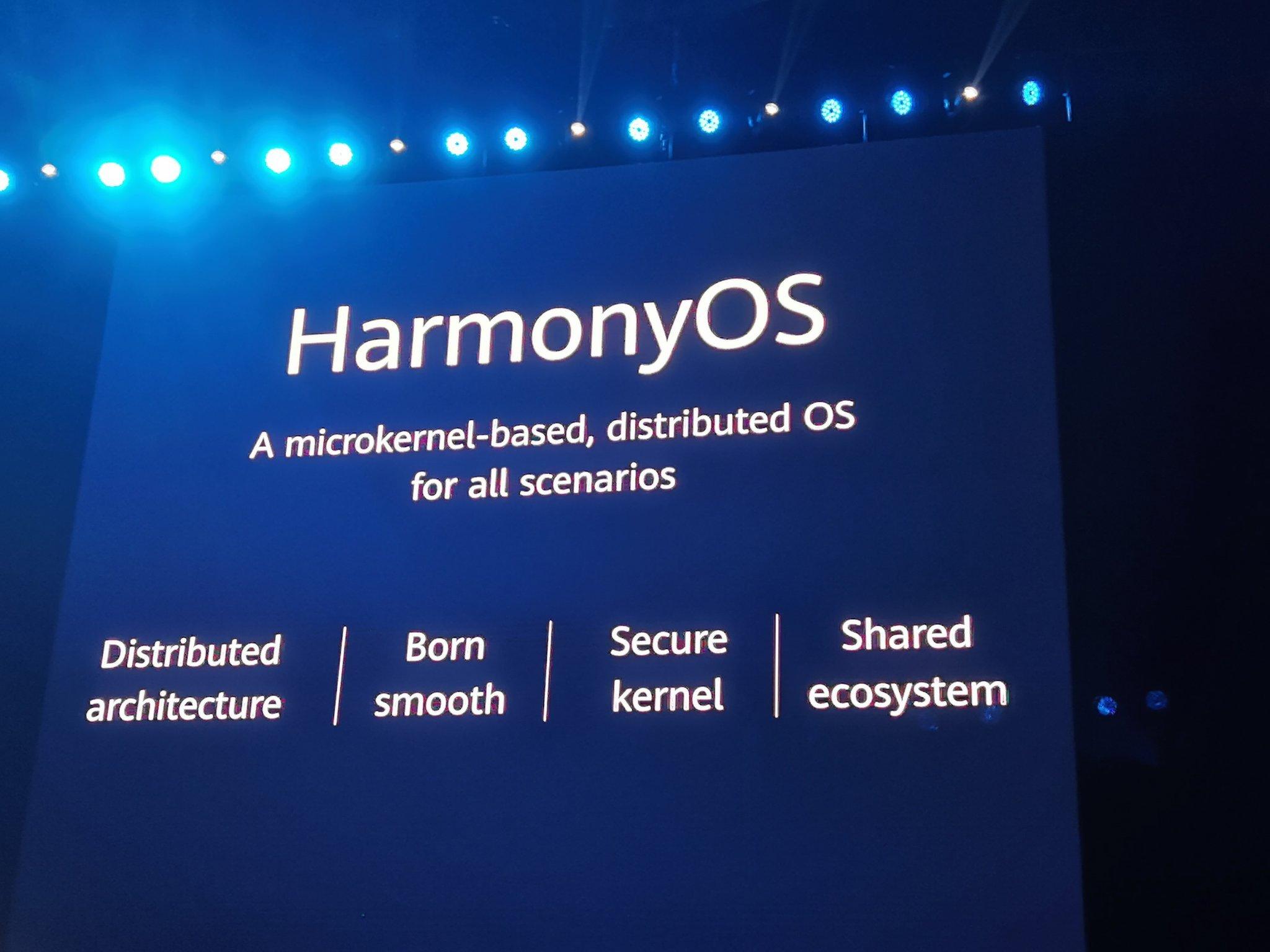 Huawei présente Harmony OS, son premier système d'exploitation pour smartphones - Télécoms