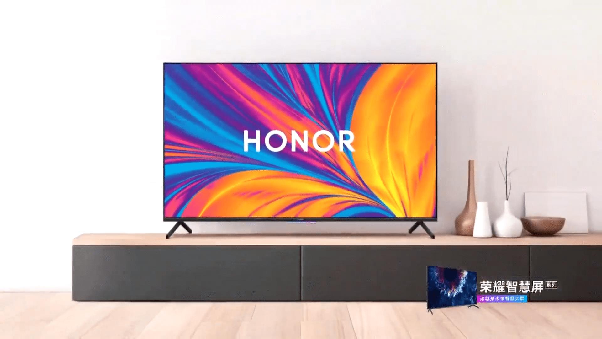 Honor Vision officialisé : l'écran intelligent sous HarmonyOS pour remplacer votre TV