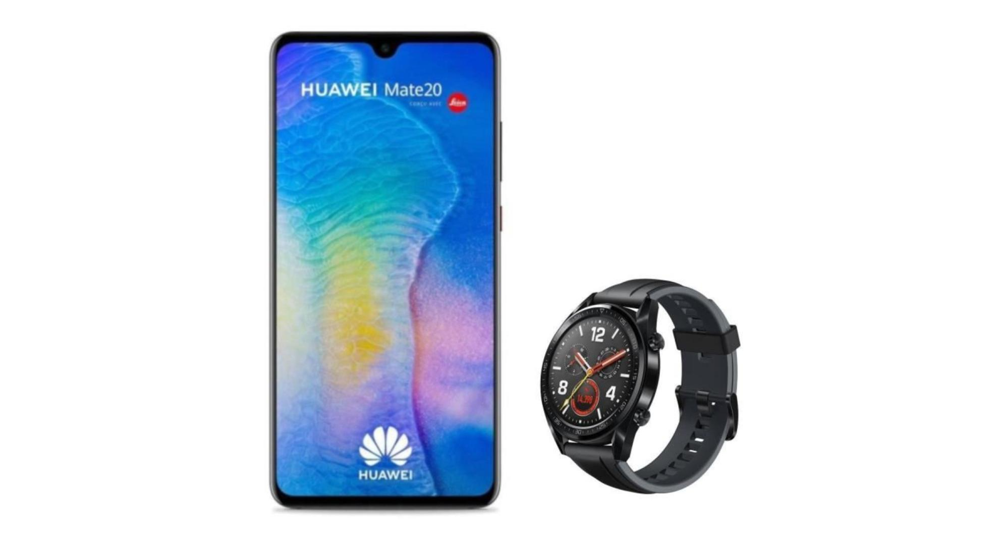 Carte Cadeau Huawei.Le Mate 20 Passe A 369 Euros Avec Une Montre Huawei Watch Gt