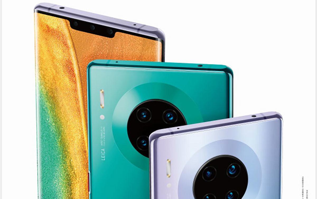 Huawei Mate 30 et Mate 30 Pro : voici tous les coloris attendus