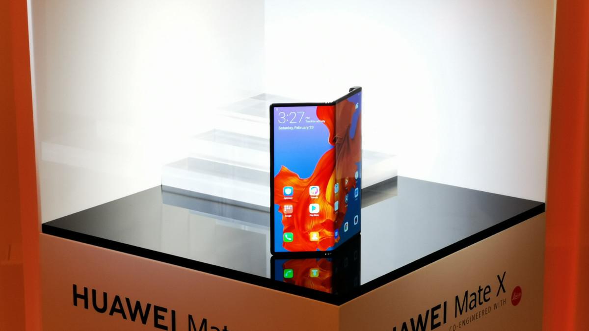 Huawei Mate X : de nouveau retardé, il arrivera après le Galaxy Fold