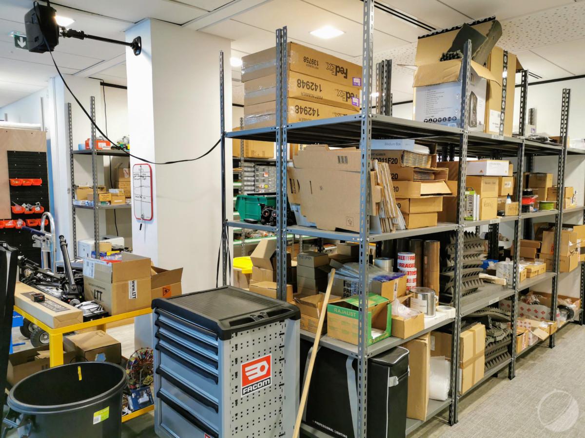 L'atelier de fabrication des scènes de DxOMark