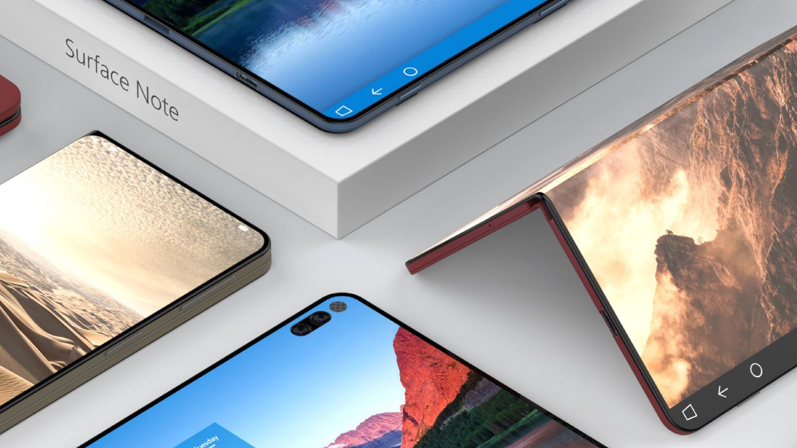 Microsoft imagine une Surface avec 2 écrans fusionnables