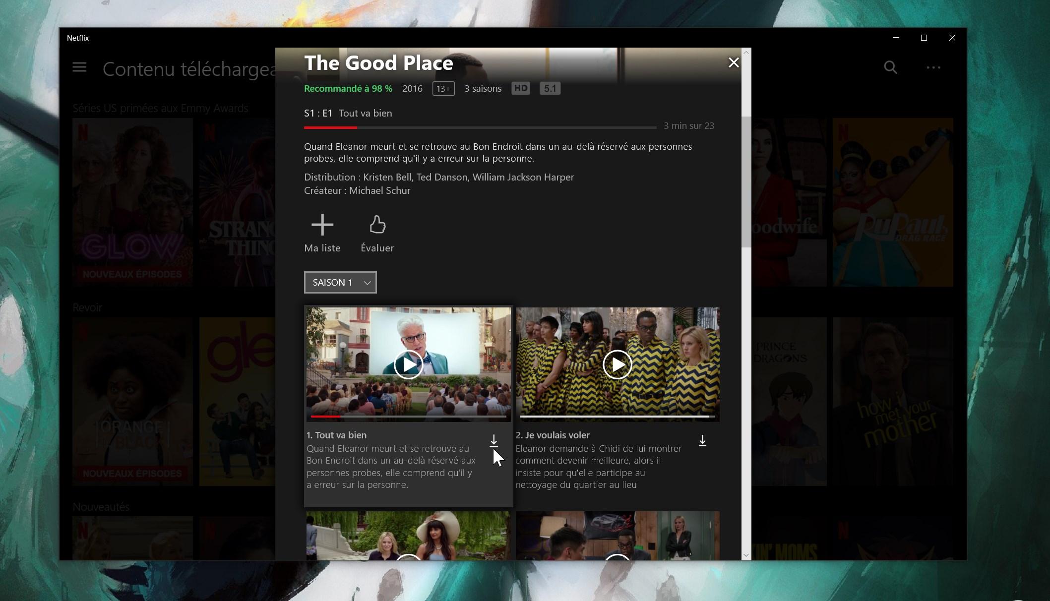 Netflix : comment télécharger des films et séries sur PC pour les regarder hors ligne