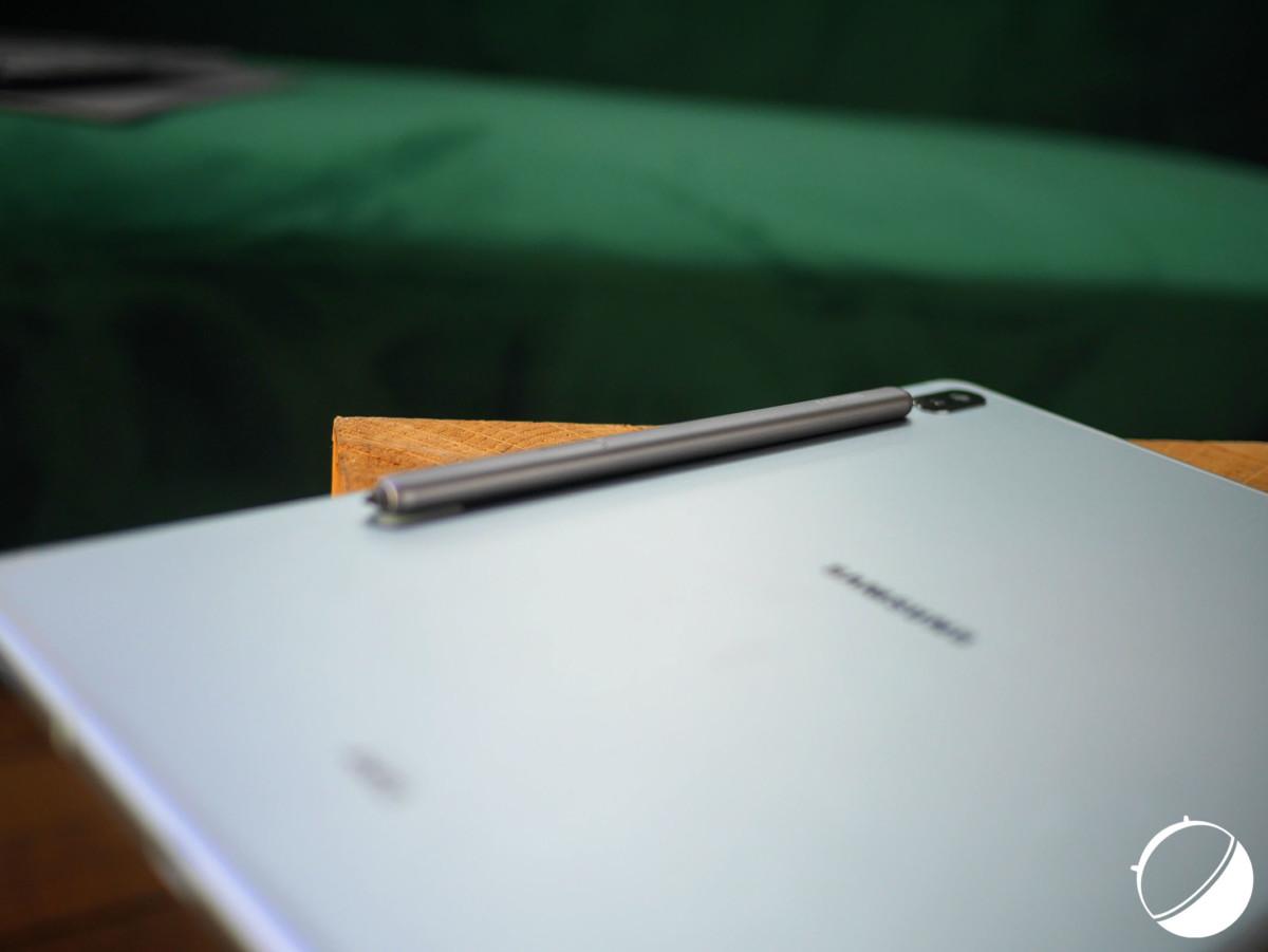Le dos de la Samsung Galaxy Tab S6