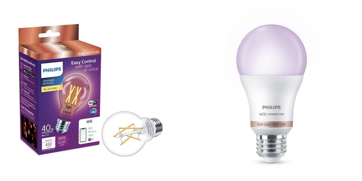 Philips Wiz : des ampoules connectées sans pont de connexion