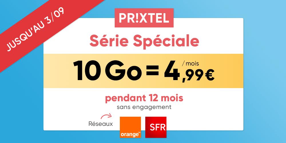 Prixtel casse le prix de son forfait mobile ajustable : à partir de 4,99 euros pour 10 Go