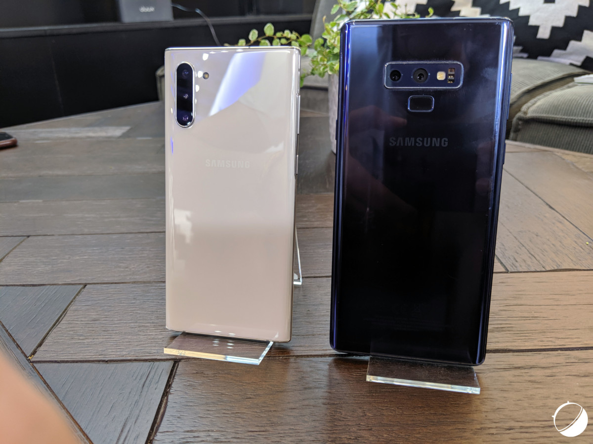 Samsung Galaxy Note 10 vs Galaxy Note 9 : belle évolution générationnelle