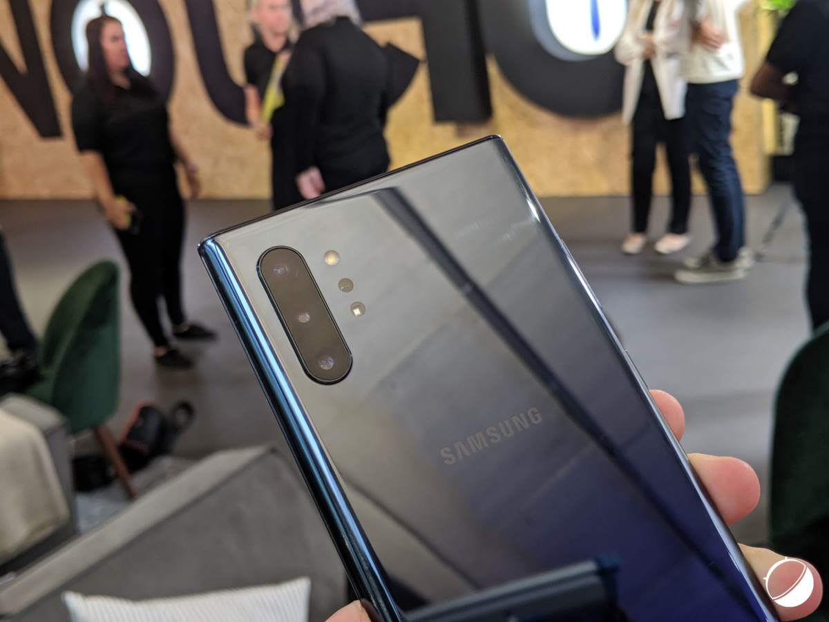 L'appareil photo du Galaxy Note 10+ pour illustration