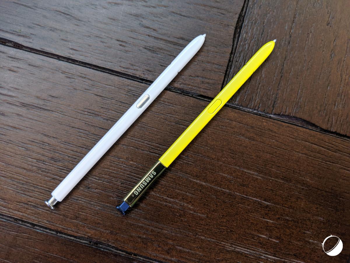 Les S Pen du Note10 et du Note9