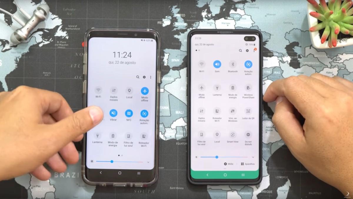 Samsung One UI 2.0 : aperçu de l'interface sur Android 10