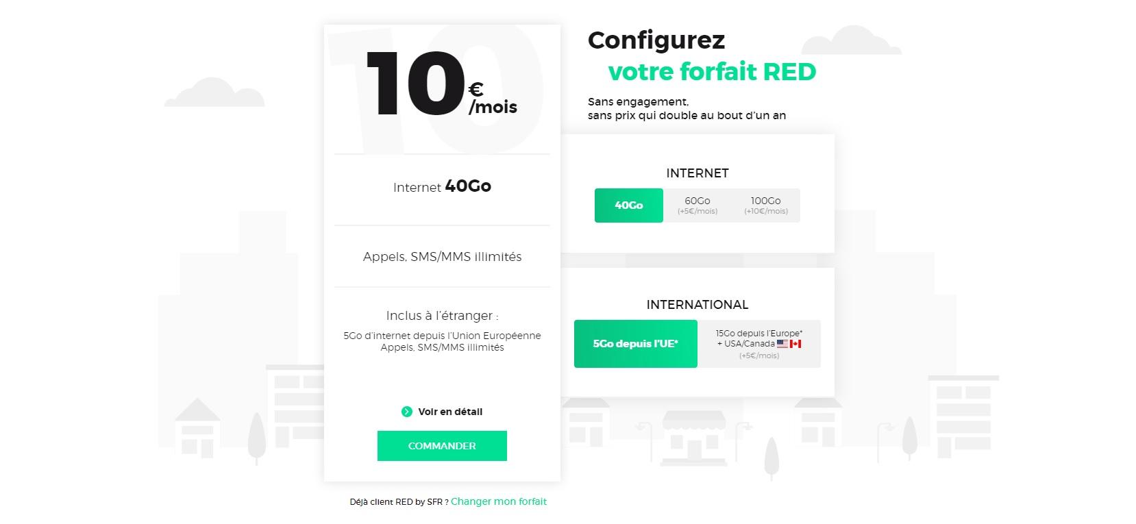 Red By Sfr Change De Formule Un Seul Forfait Mobile Et Des