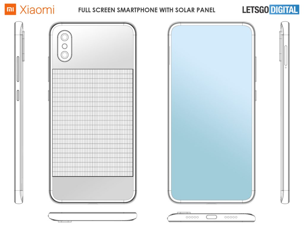Xiaomi imagine un smartphone à recharge solaire