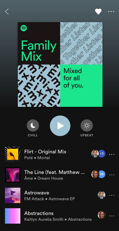 Spotify : l'abonnement famille s'étoffe avec un Mix Familial et le contrôle parental