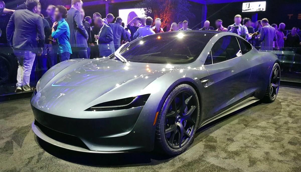 Un prototype de Tesla Roadster 2020. Crédit : Smnt.