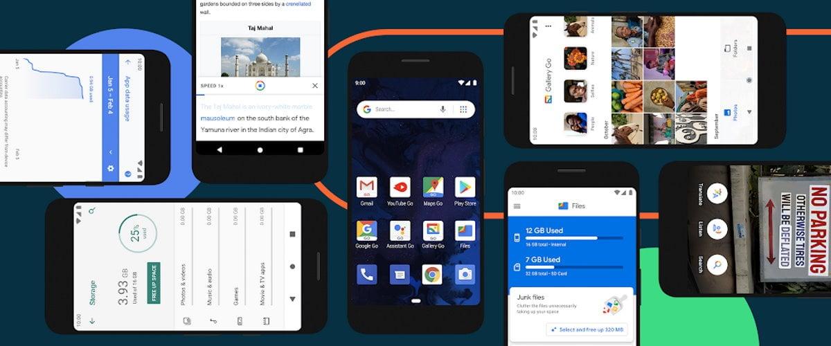 Android 10 Go officialisé : nouveau thème, chiffrement universel et performance en hausse