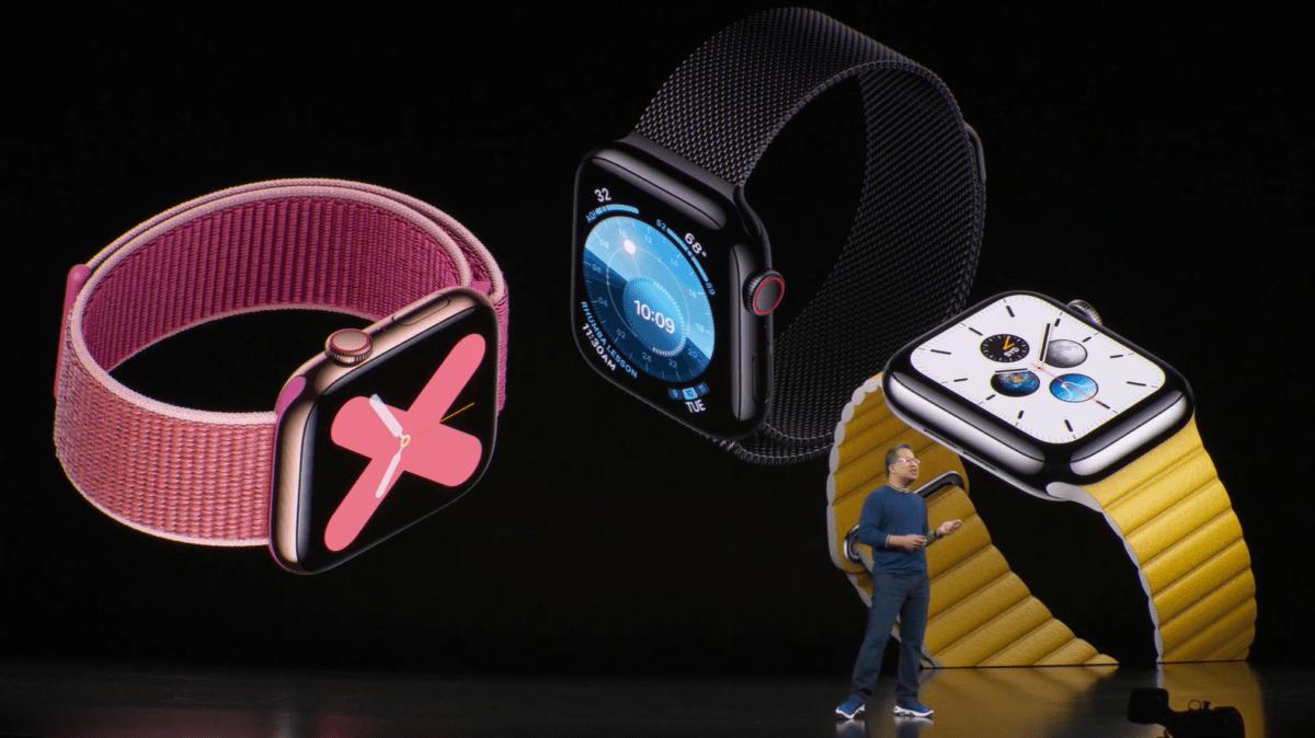 Apple Watch Series 5 officialisée : Always-On Display et boussole intégrée