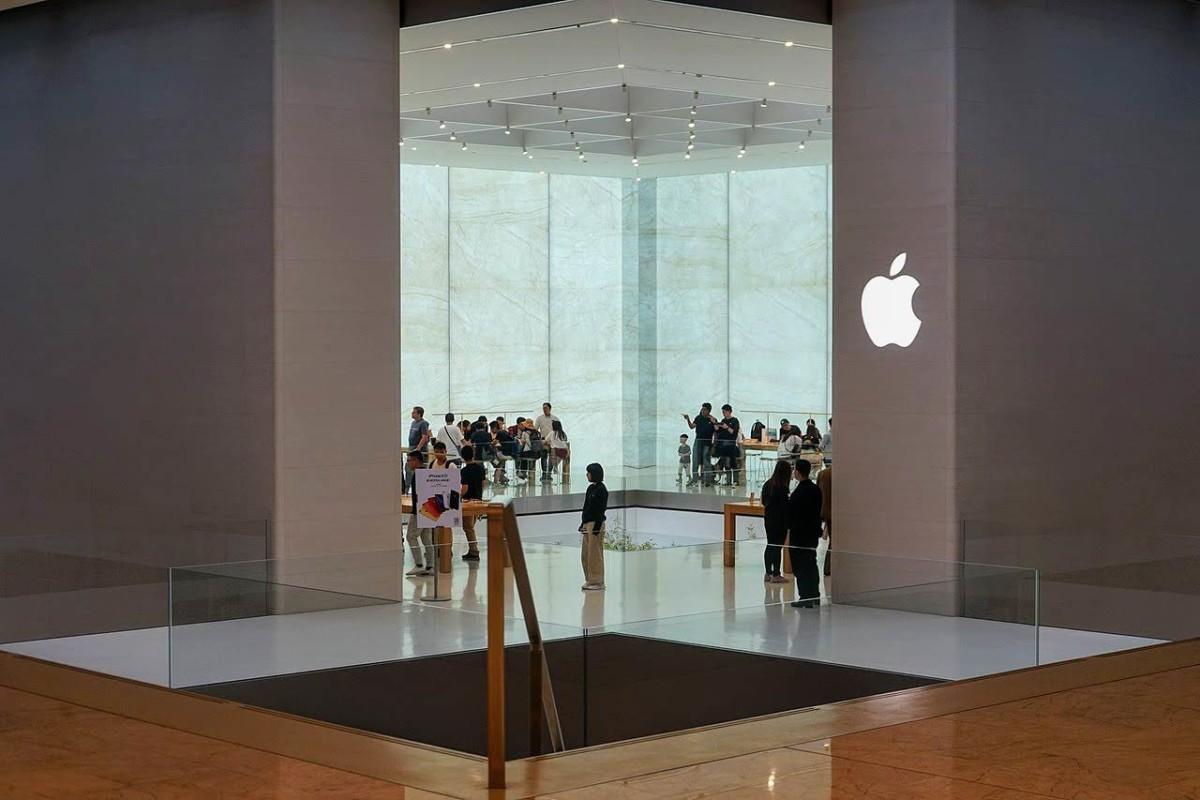 L'Apple Store de Macao (crédit : CC BY-SA 4.0 Y Chen)