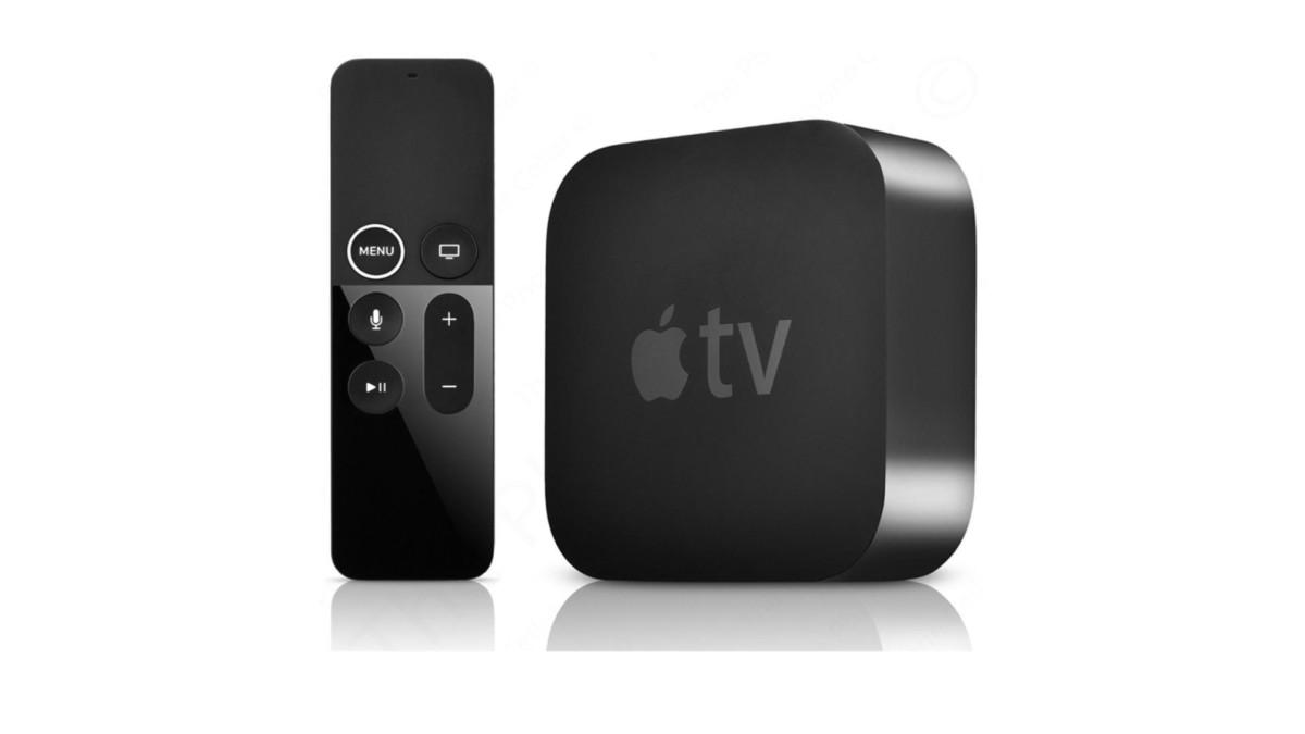 L'Apple TV et sa télécommande