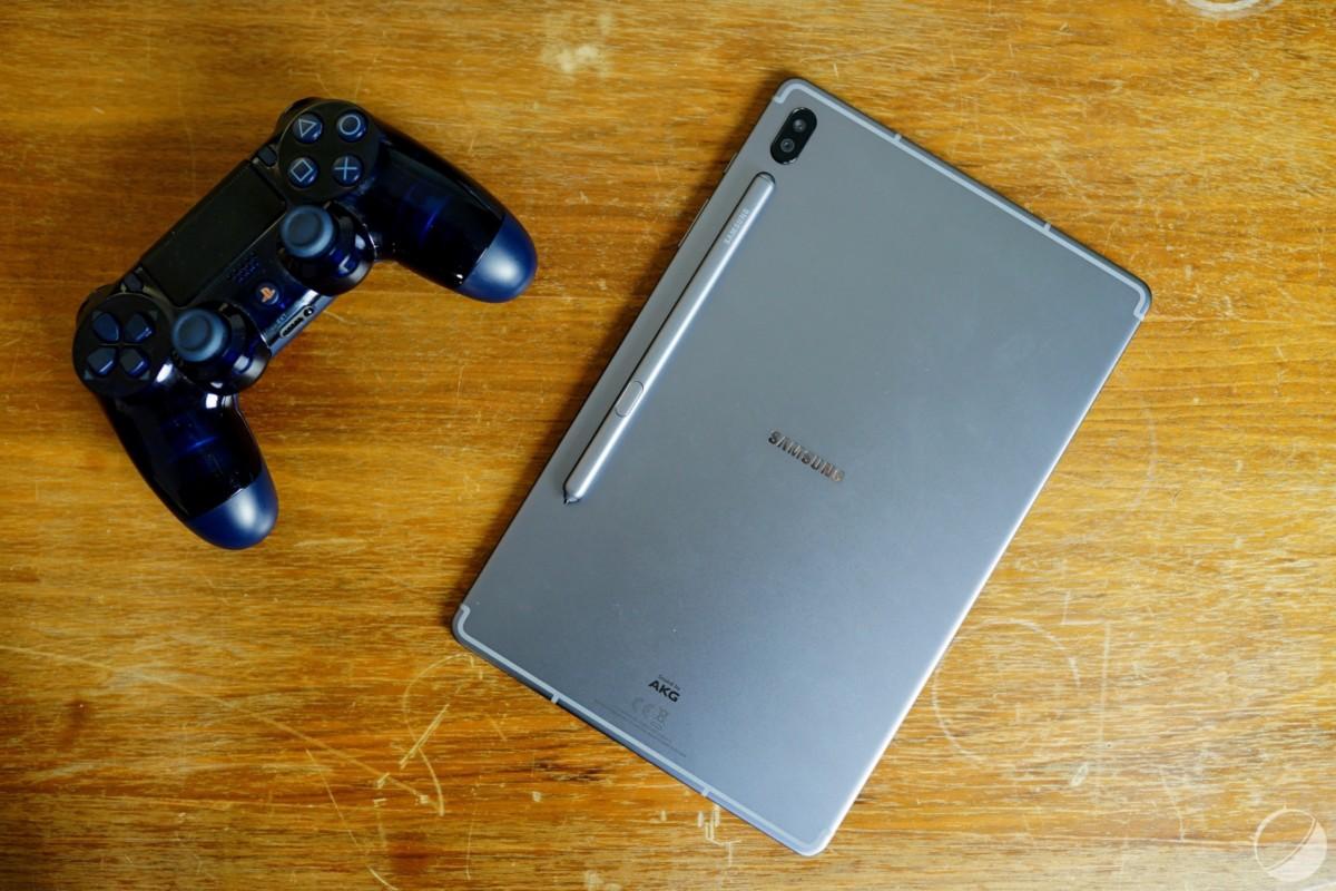 Samsung Galaxy Tab S6 de dos