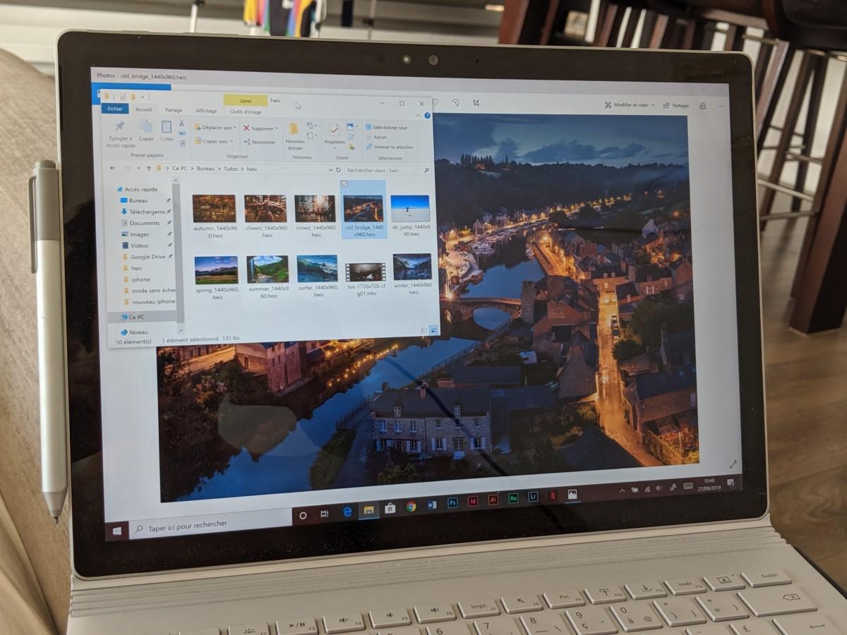 Windows 10: cómo abrir imágenes HEIF y vídeos HEVC