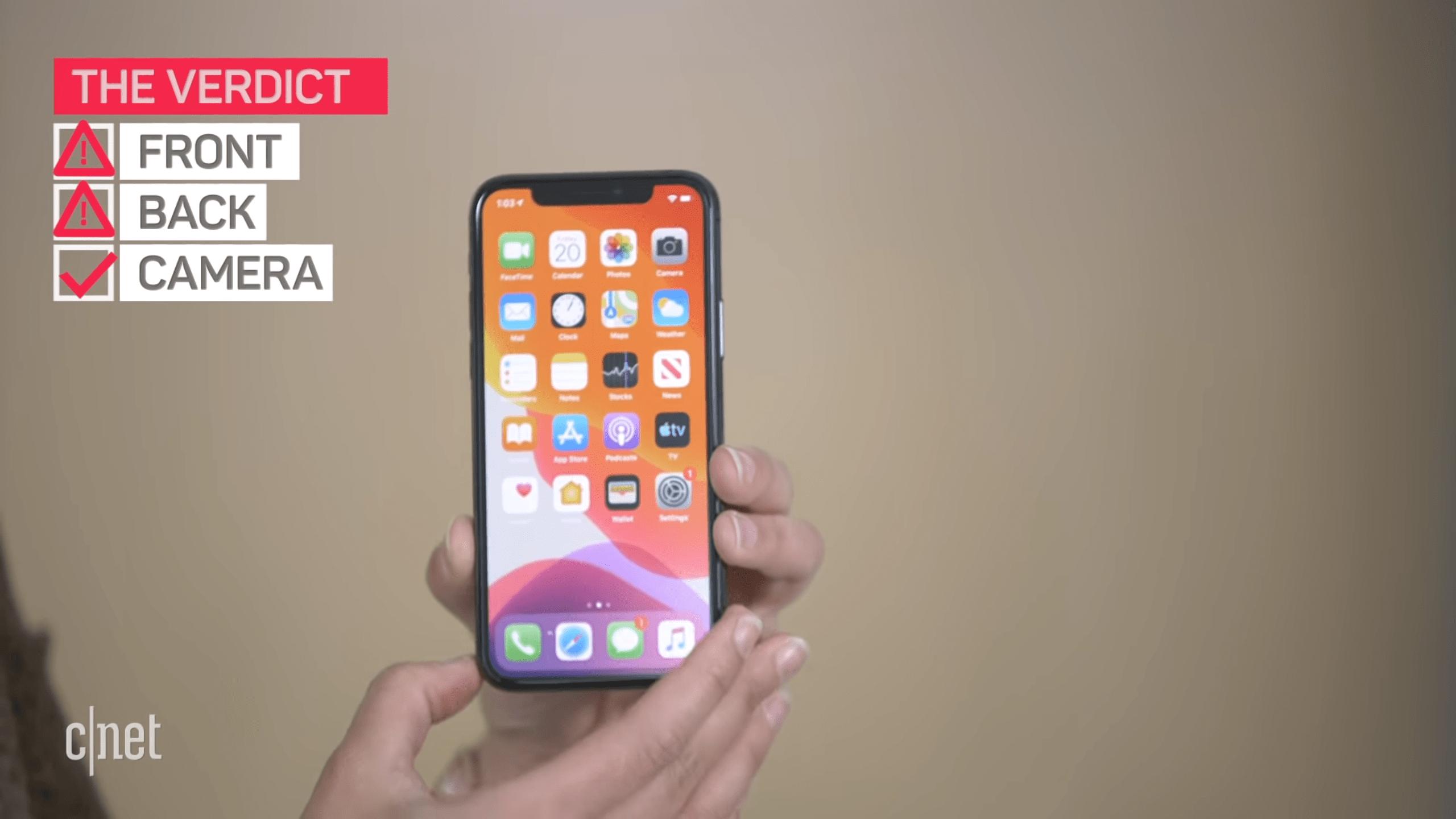 Iphone 11 Et 11 Pro Leur Ecran Est Vraiment Tres Solide