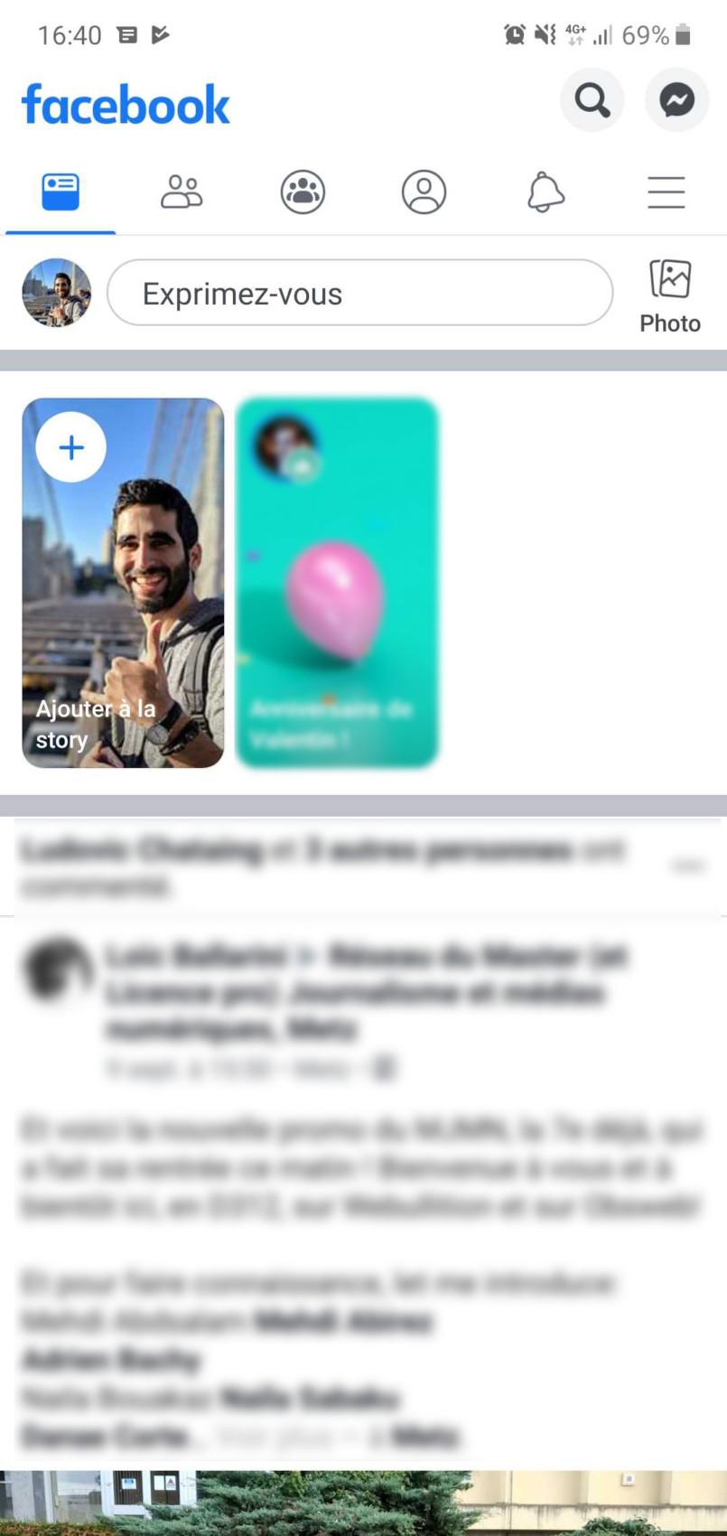 Facebook : l'interface iOS se déploie sur les smartphones Android tout doucement
