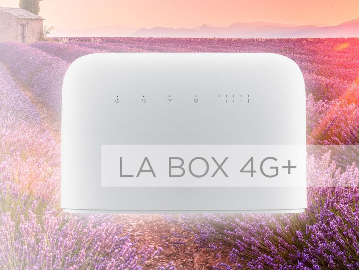 Free lance sa première box 4G+ pour compenser l'absence de fibre optique