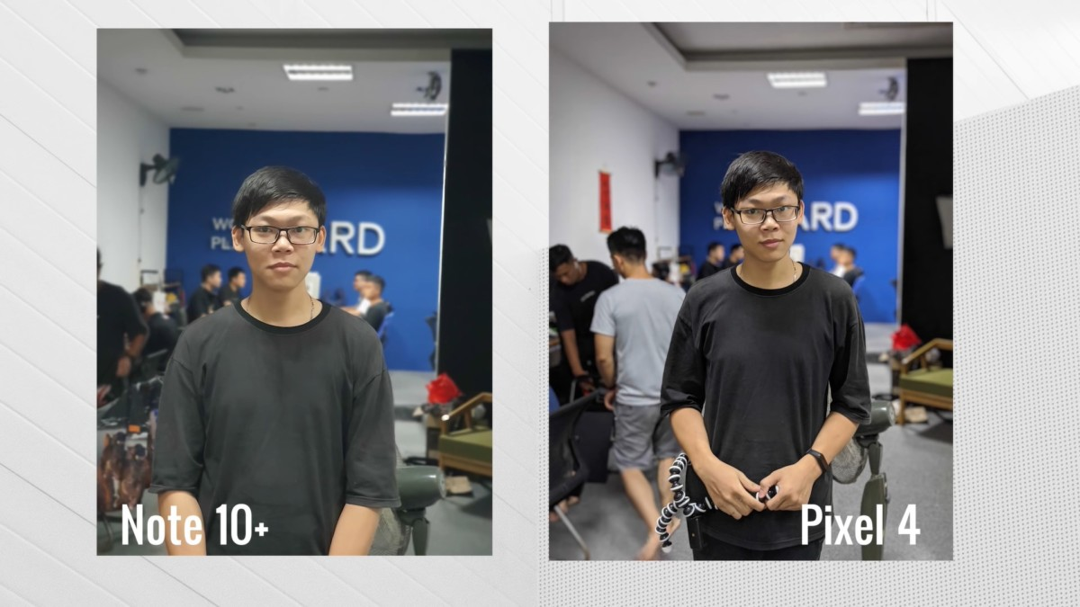 Comparaison photo Samsung Galaxy Note 10+ / Google Pixel 4 XL